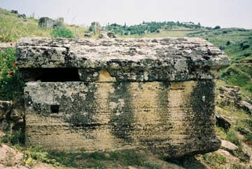 Jewish family grave from Hierapolis (IJO II 196)