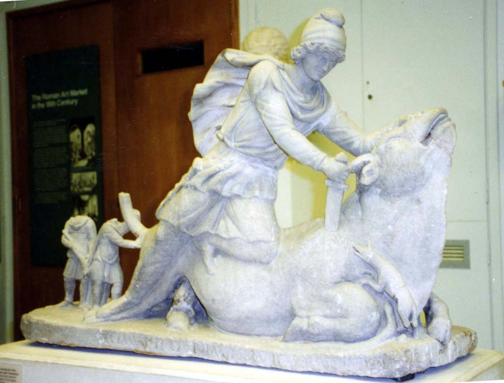 5f Mithras slaying the bull (now in the British Museum)